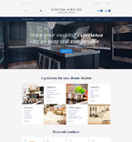 Furniture OpenCart  Template 58234