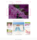 Wedding Shopify Template 58236