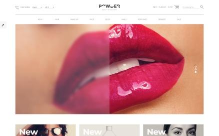 Cosmetics Store Responsive OpenCart Template