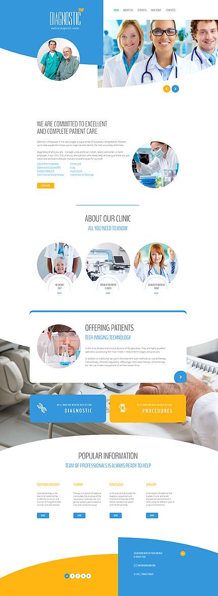 Medical Website Template | Website Templates