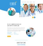 Medical Website  Template 58241