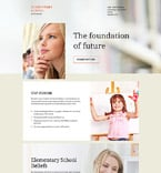 Education Landing Page  Template 58242