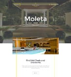 Hotels Landing Page  Template 58247