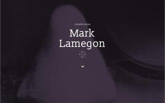 Singer Responsive Landing Page Template