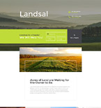 Real Estate Landing Page  Template 58250