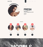 Fashion Website  Template 58255