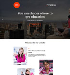 Education Landing Page  Template 58259