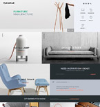 Furniture Website  Template 58260