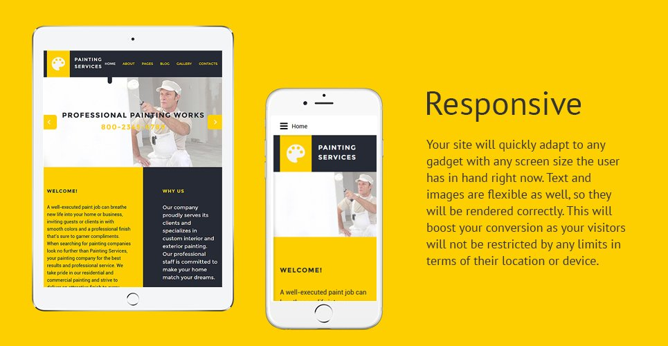 Painting Services Joomla Template