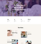 Wedding Website  Template 58268