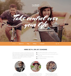 Society and Culture Website  Template 58273