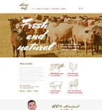 Agriculture Website  Template 58274