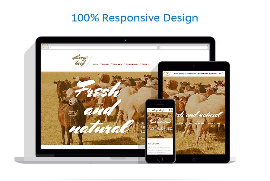 Modèles HTML5 Agriculture #58274