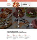Food & Drink Website  Template 58276