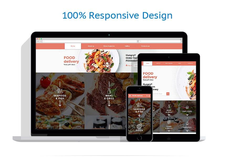 Modèles HTML5 Alimentation et Boissons #58276