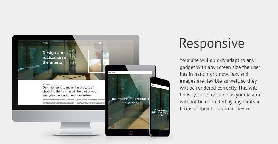 Arcitex Website Template