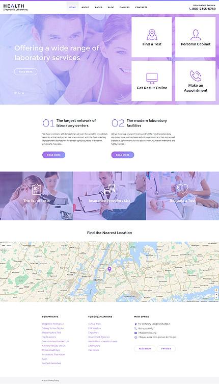 Joomla Theme/Template 58282 Main Page Screenshot