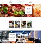 Cafe & Restaurant Website  Template 58283