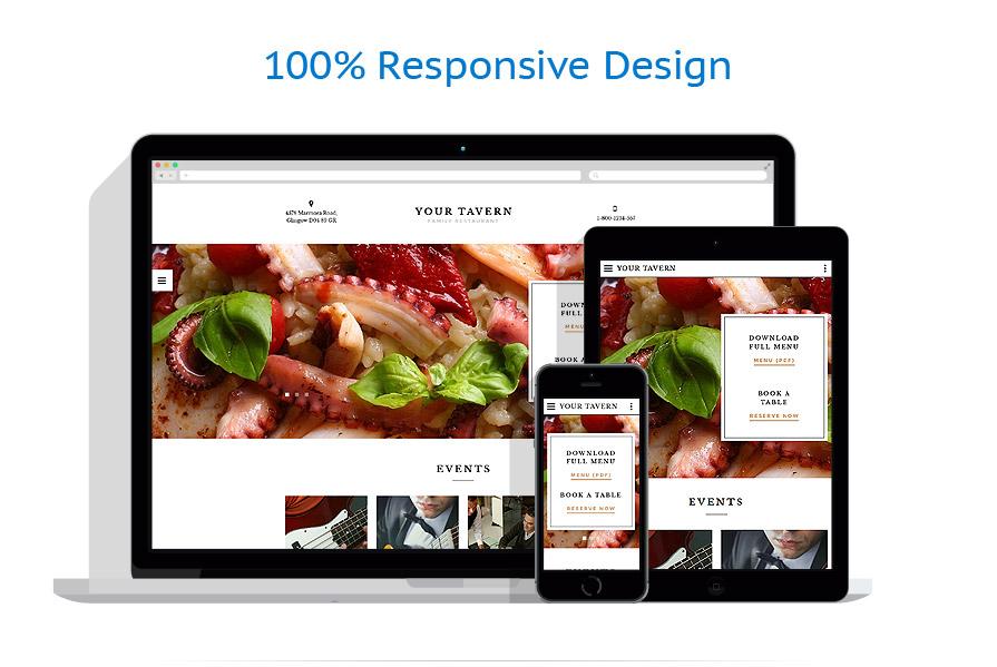 Modèles HTML5 Café et Restaurant #58283