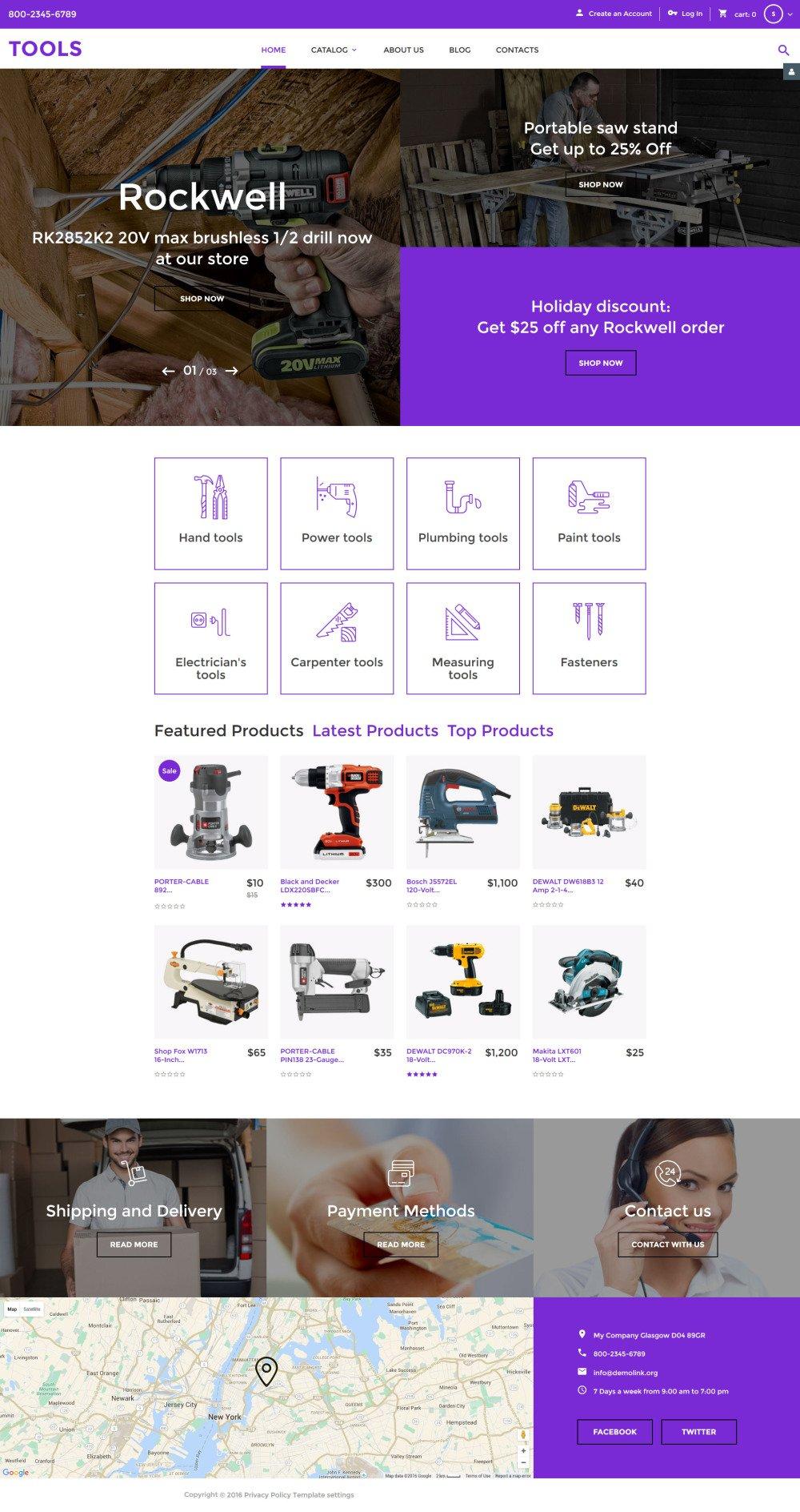 Most Popular VirtueMart Template | Website Templates