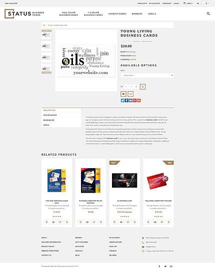 ADOBE Photoshop Template 58287 Home Page Screenshot
