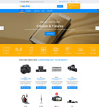 Electronics VirtueMart  Template 58290