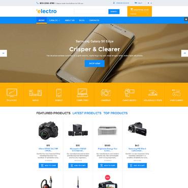 Купить  пофессиональные VirtueMart шаблоны. Купить шаблон #58290 и создать сайт.