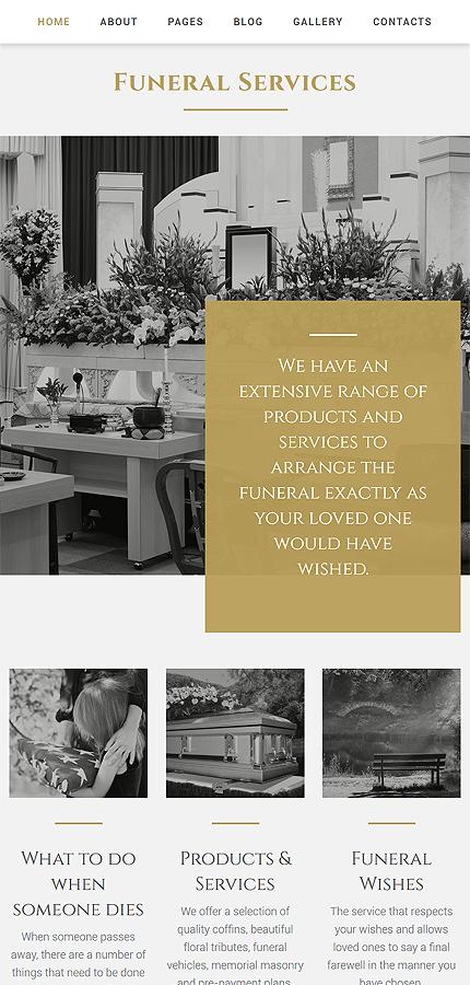Joomla Theme/Template 58295 Main Page Screenshot