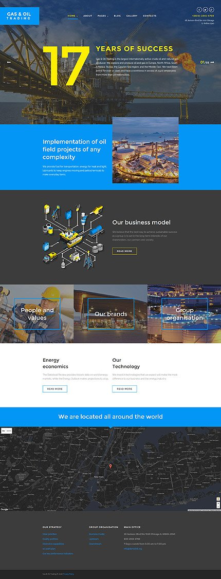 Joomla Theme/Template 58296 Main Page Screenshot