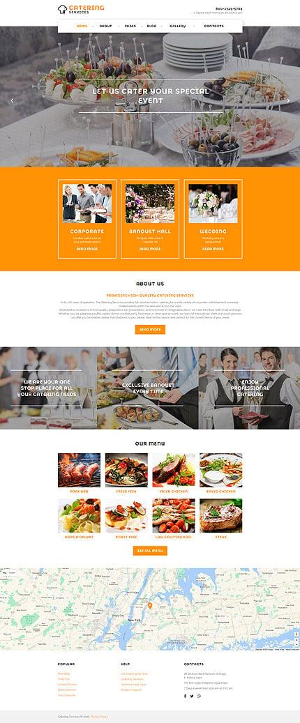 Joomla Theme/Template 58298 Main Page Screenshot