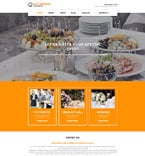 Food & Drink Joomla  Template 58298