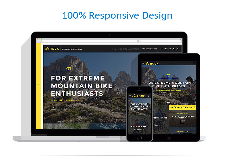 Modèles HTML5 Sport #58299