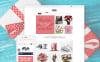 """Boutique de cadeaux en ligne"" thème Shopify adaptatif New Screenshots BIG"