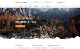 """Discovery Tour - Travel Multipage Clean HTML"" modèle web adaptatif"