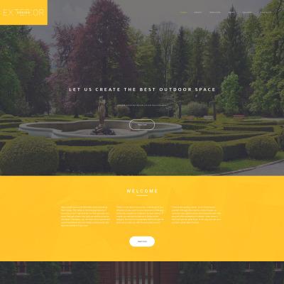 Exterior design website templates for Exterior design templates