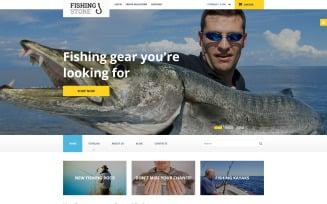 Fishing VirtueMart Template