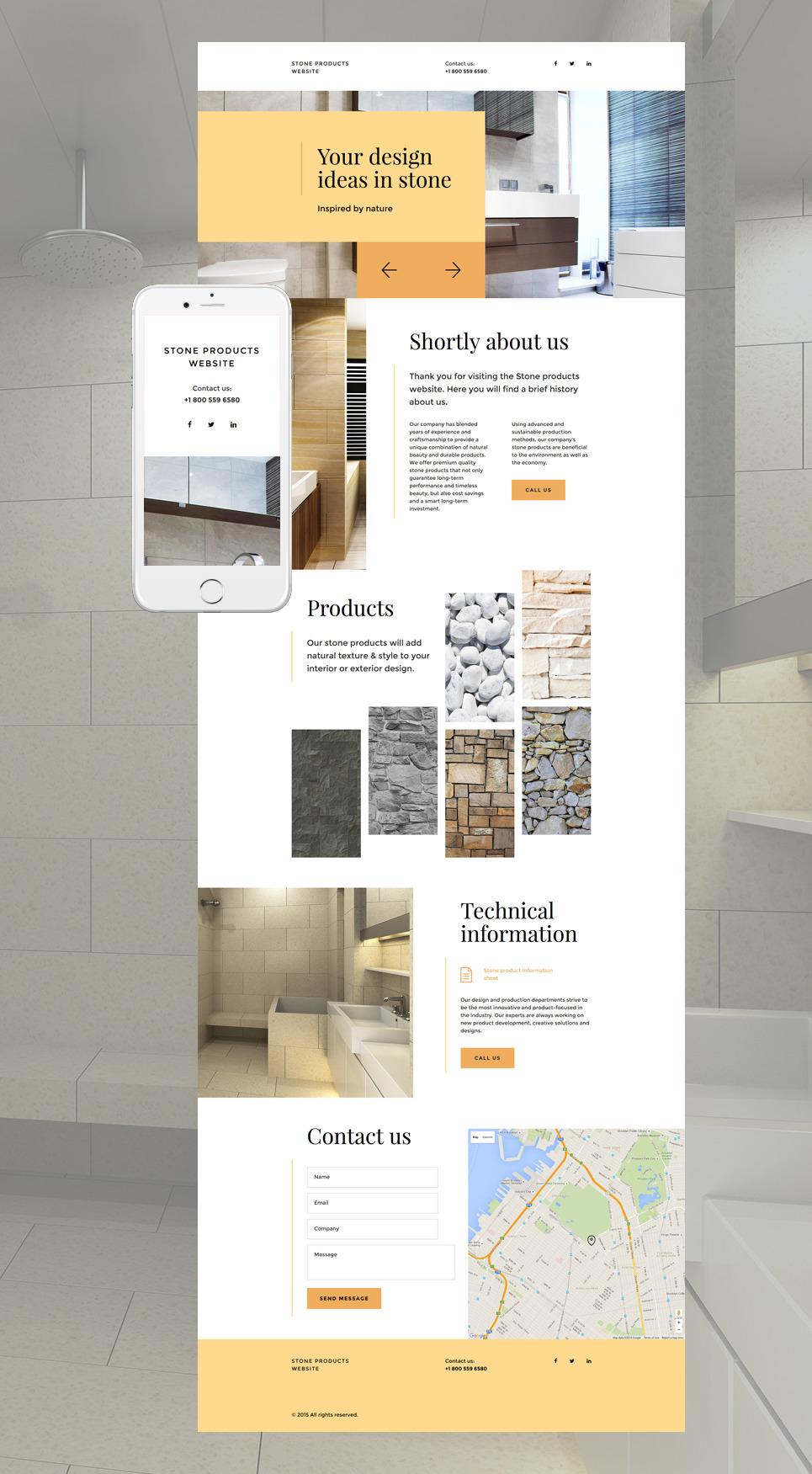 Flooring Landing Page Template New Screenshots BIG