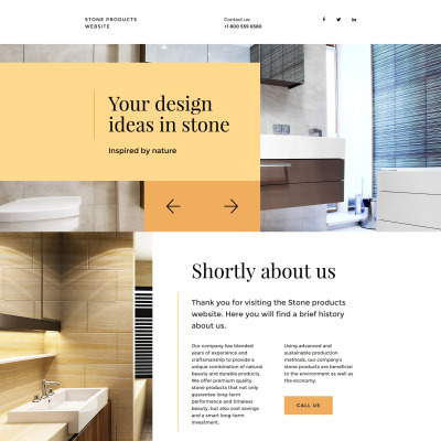 Flooring Landing Page Template 58212