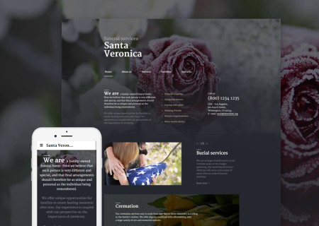 Funeral Services Responsive