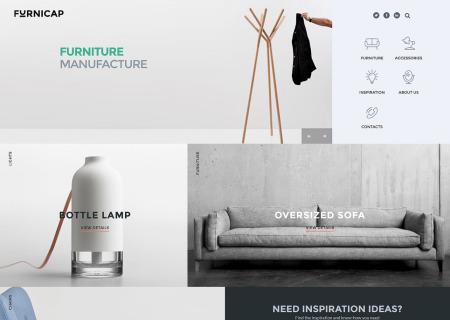 modern furniture  template