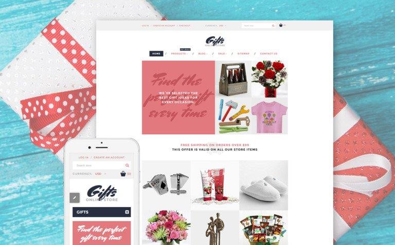 Gifts Online Store Shopify Theme New Screenshots BIG