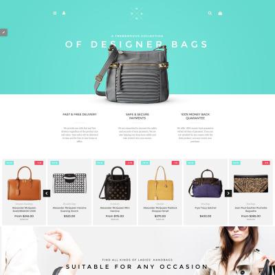 Handbag Responsive Shopify Thema