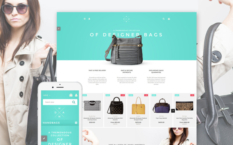 Handbag Boutique Shopify Theme New Screenshots BIG