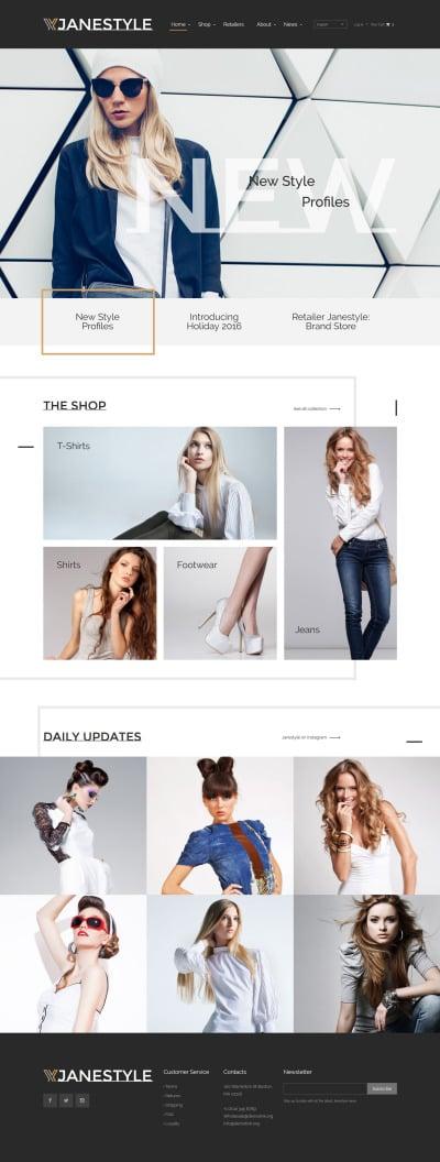 Fashion Web Template
