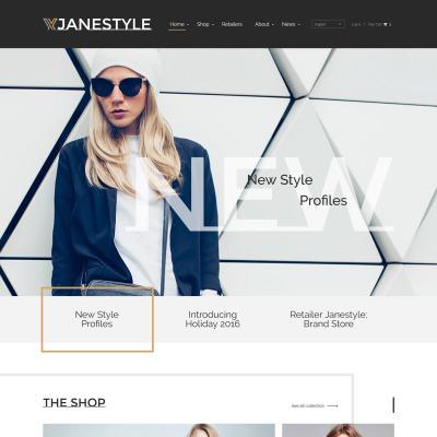 HTML5 Fashion Templates | TemplateMonster