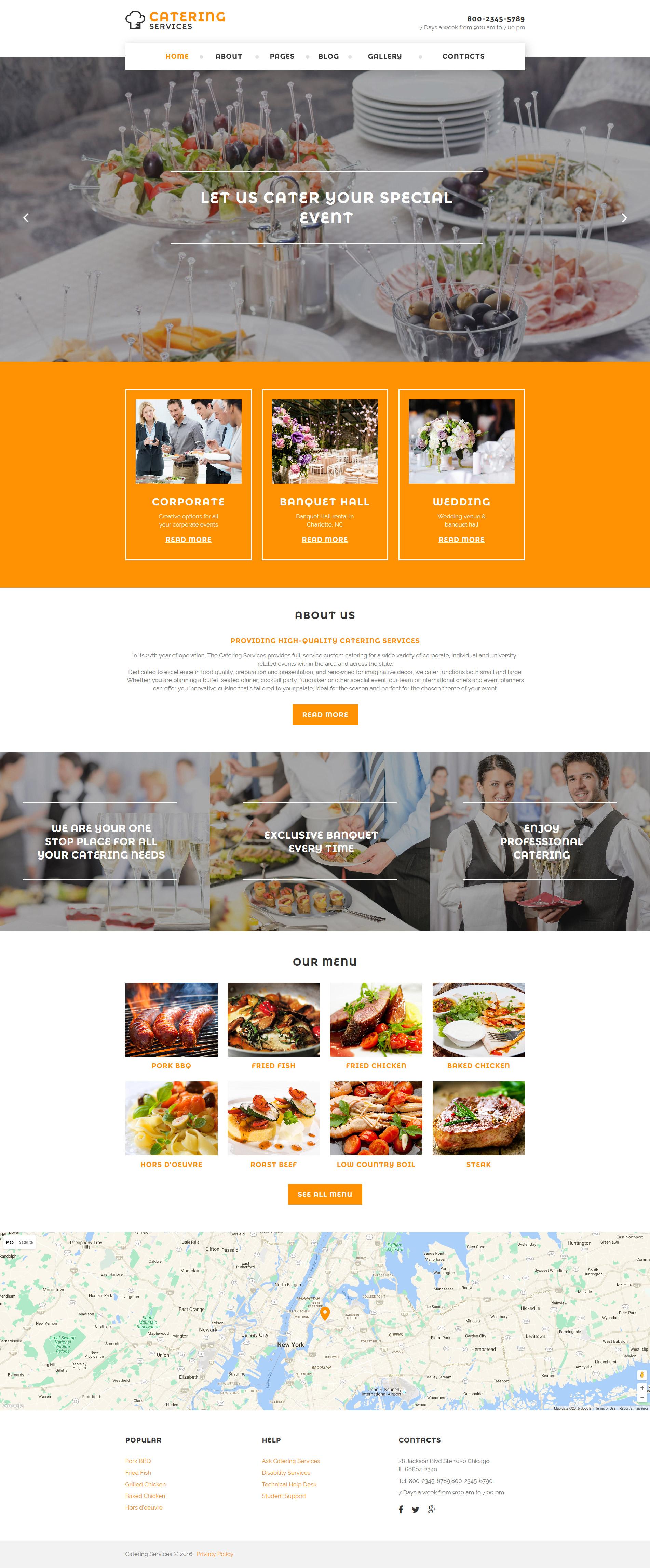 Joomla Vorlage 58298 Für Gastronomie