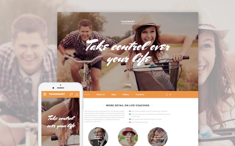 Life Coach Website Template New Screenshots BIG
