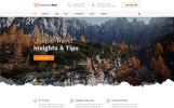 Plantilla Web para Sitio de Viajes