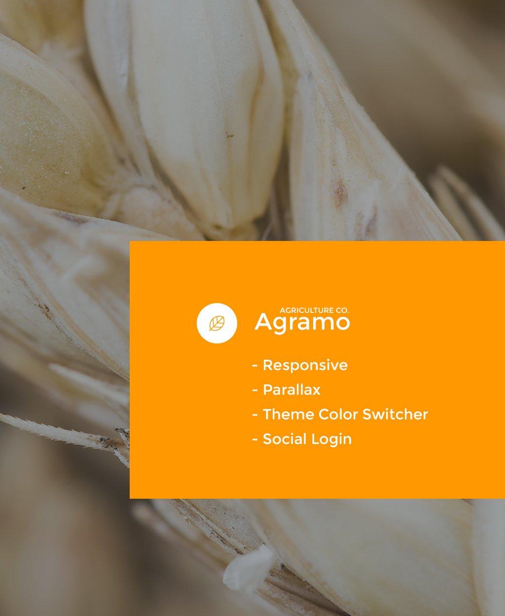 Responsive Joomla Vorlage für Landwirtschaft #58221