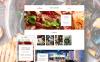 Responsive Website template over Café en restaurant New Screenshots BIG